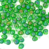 10g Röhrchen Miyuki Drop Beads 3,4mm, Matt Transparent Green AB, *0146FR