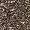 10g Beutel SuperDuo™ Beads 2,5x5mm, Bronze