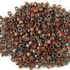 25g Beutel Miyuki Delica Beads 11/0, Opaque Picasso Red, DB2263-25