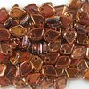 5g Beutel Dragon® Scale Beads 1,5 x 5 mm, Crystal Sunset