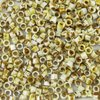 25g Beutel Miyuki Delica Beads 11/0, Opaque Picasso Yellow, DB2262-25