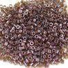 25g Beutel Miyuki Delica Beads 15/0, Mulberry Rainbow Gold Luster, DBS0129-25