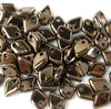 5g Beutel Dragon® Scale Beads 1,5 x 5 mm, Jet Bronze
