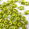 10g Beutel SuperDuo Beads 2,5x5mm, Metalust Yellow Gold